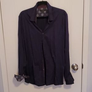 Ted Baker London Purple Men's Dress Shirt
